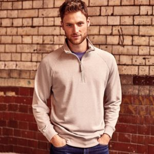 J282M HD ¼ zip sweatshirt