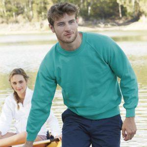Classic 80/20 raglan sweatshirt