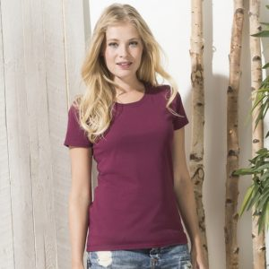 Lady-fit ringspun premium t-shirt